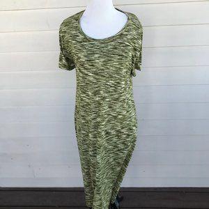Lularoe Green Carly Dress Size Medium